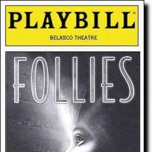 Follies Playbill Treat Williams Kelli O'Hara 2001